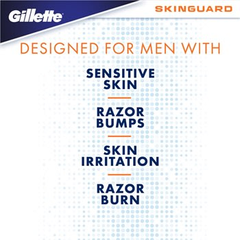 Skinguard Sensitive Skin Mens Razor