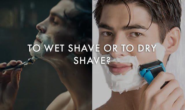 Wet Vs Dry Shaving with Blades or Electric Razors – Gillette