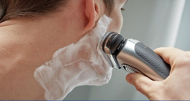 How to get a close shave with an electric shaver