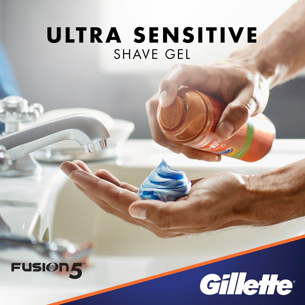 Ultra Sensitive Shave Gel I  Gillette Fusion5 Ultra Sensitive Shave Gel