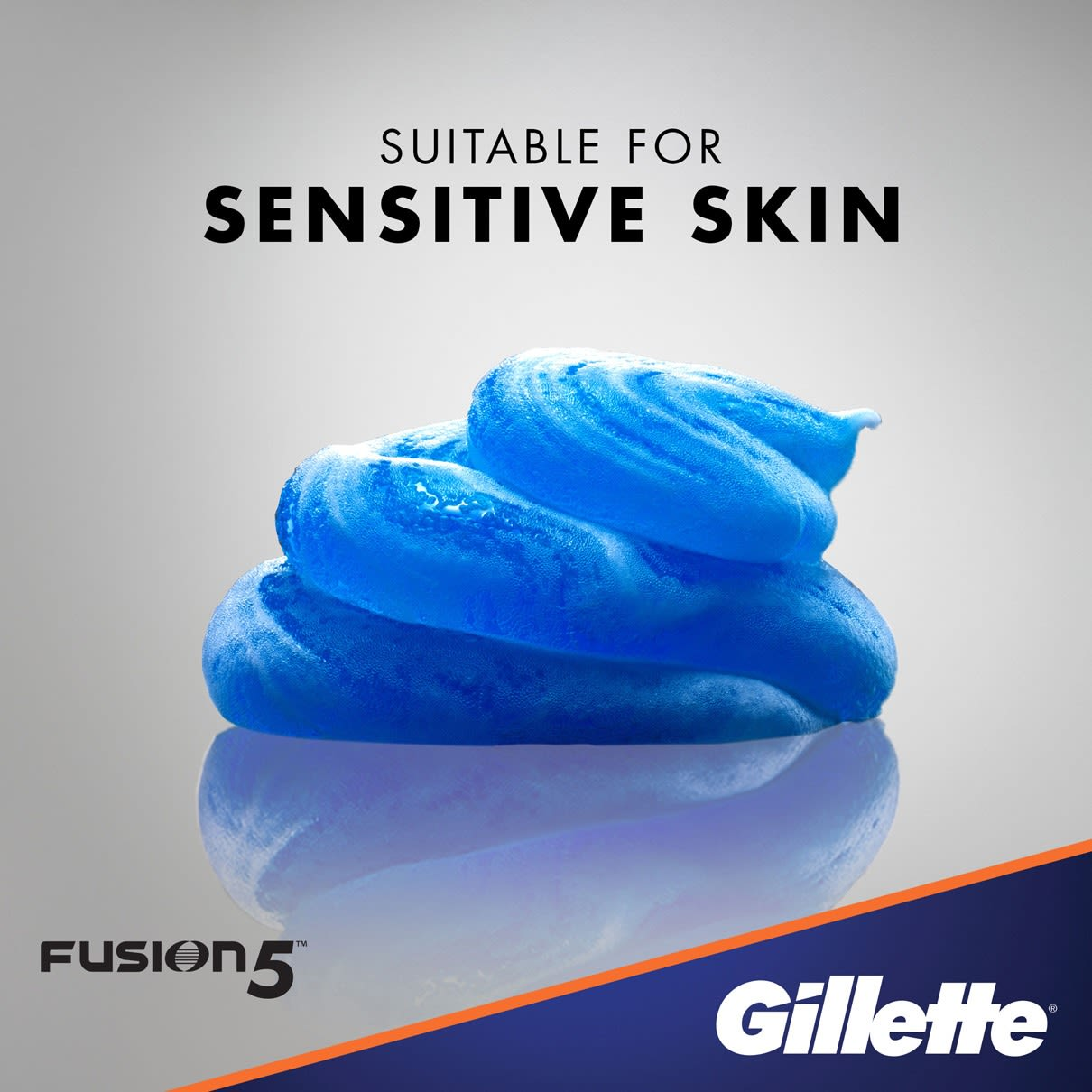 Suitable for sensitive skin I  Gillette Fusion5 Ultra Sensitive Shave Gel