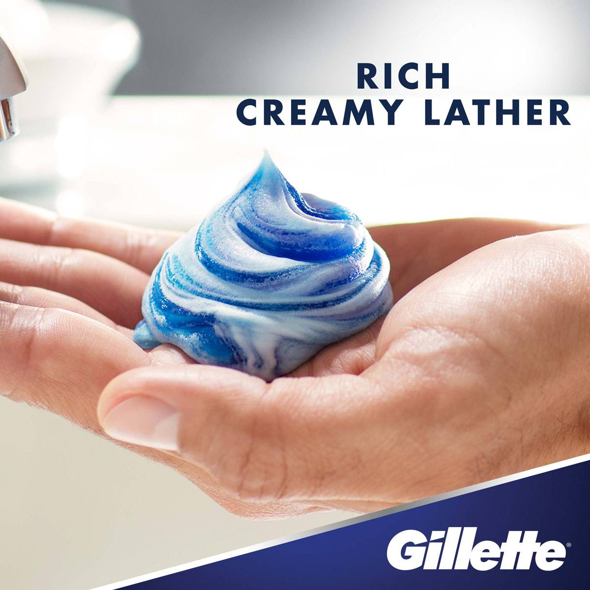 Gillette Gel Barbershop Fresh Shave