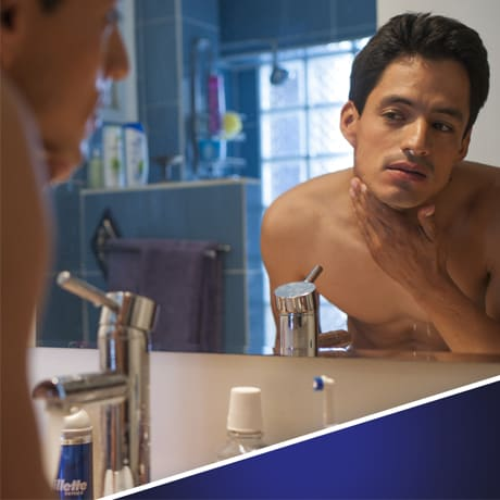 Hydrates to Soften Hair | Gillette Series Sensitive Cool Shave Gel