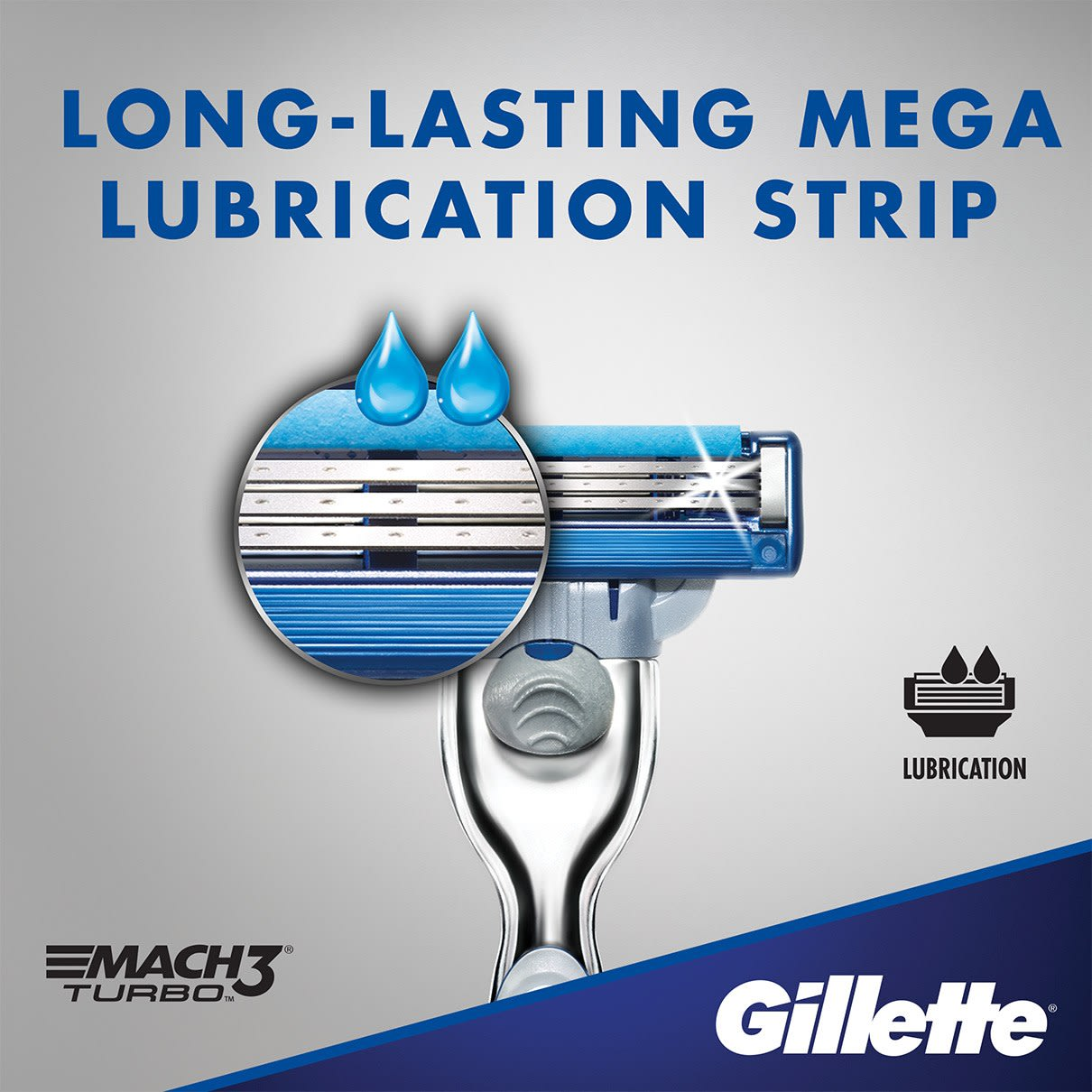Long-lasting mega lubrication strip