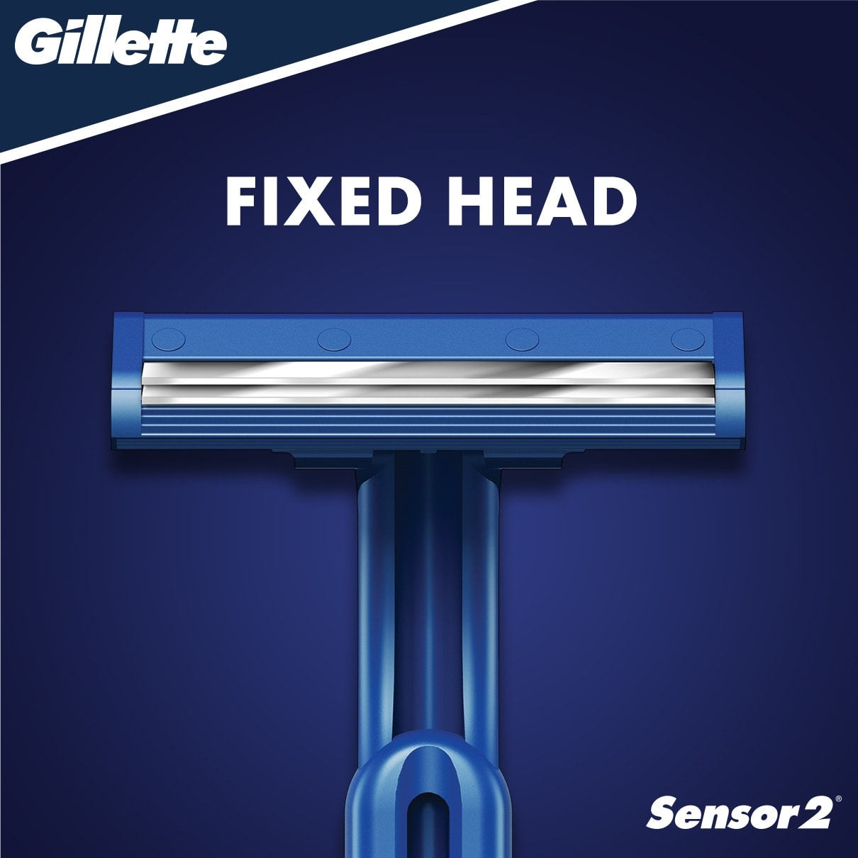 Sensor2 Fixed Disposable Razor