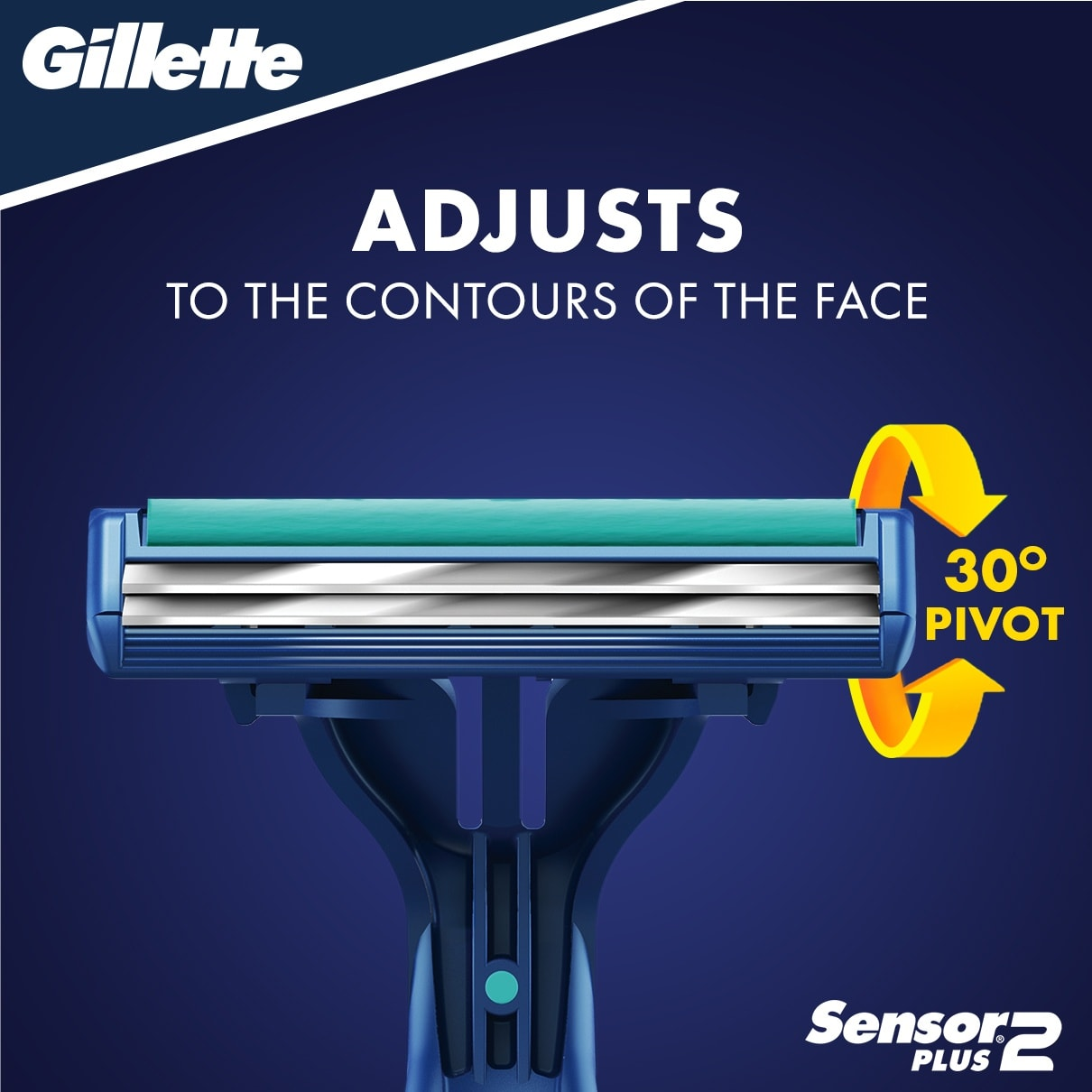 Sensor2 Plus Pivot Disposable Razors