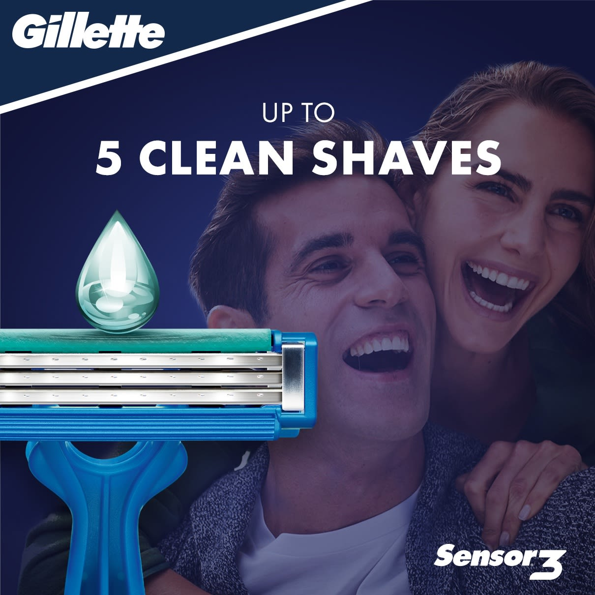 Sensor3 Simple Disposable Razor