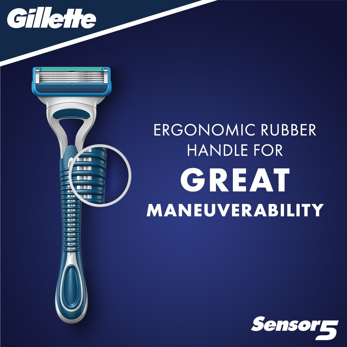 SENSOR®5 DISPOSABLE RAZOR