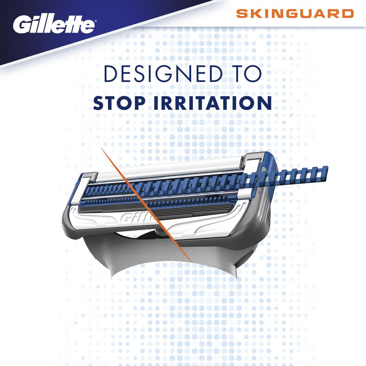 DESIGNED TO  STOP IRRITATION
