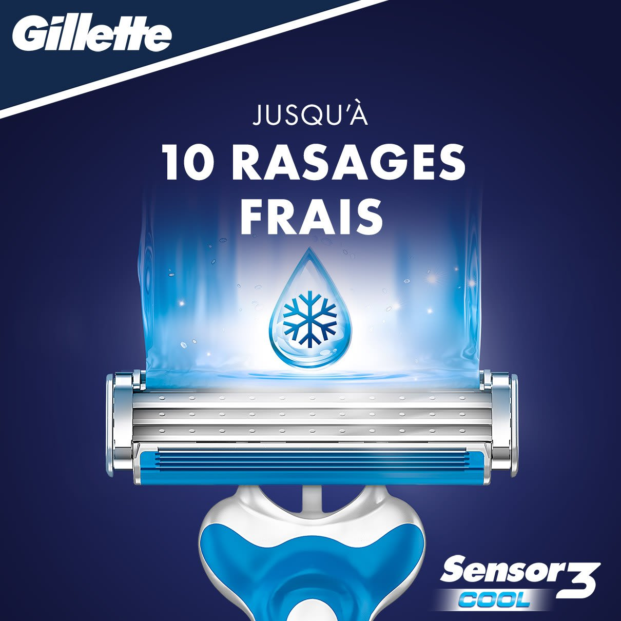 Gillette Sensor3 Cool