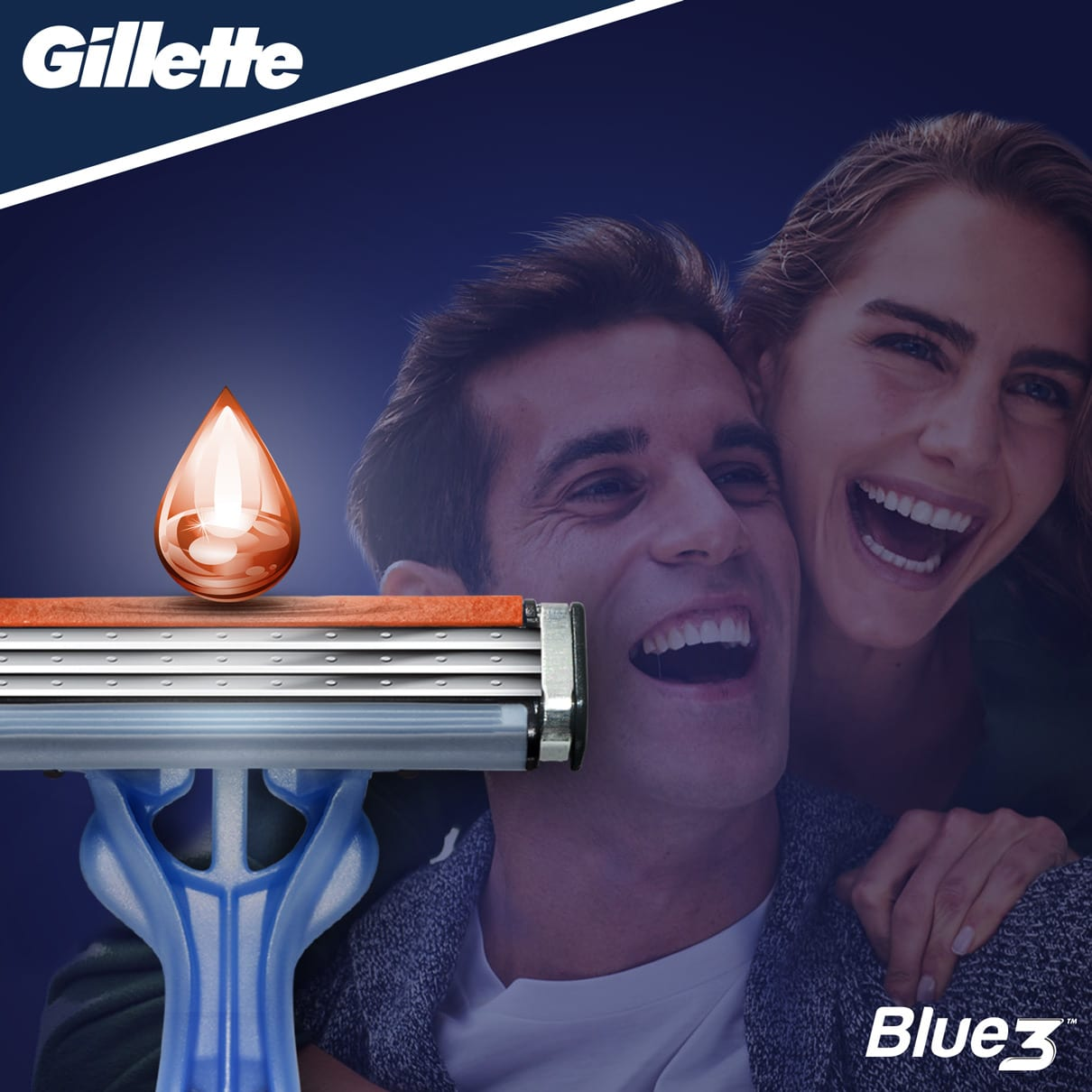 Gillette Blue3 Smooth Maquinilla Desechable Para Hombre