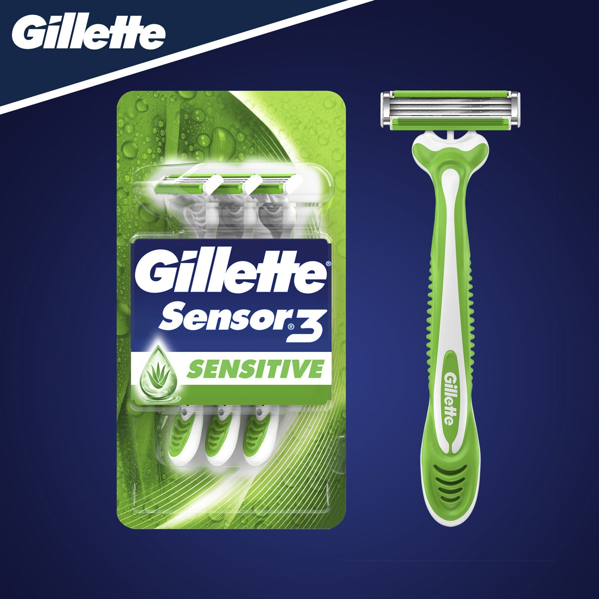 Gillette Sensor3 Sensitive