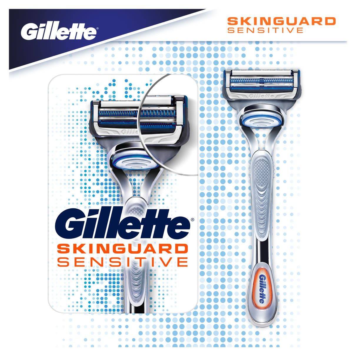 Gillette SkinGuard Razor for sensitive skin