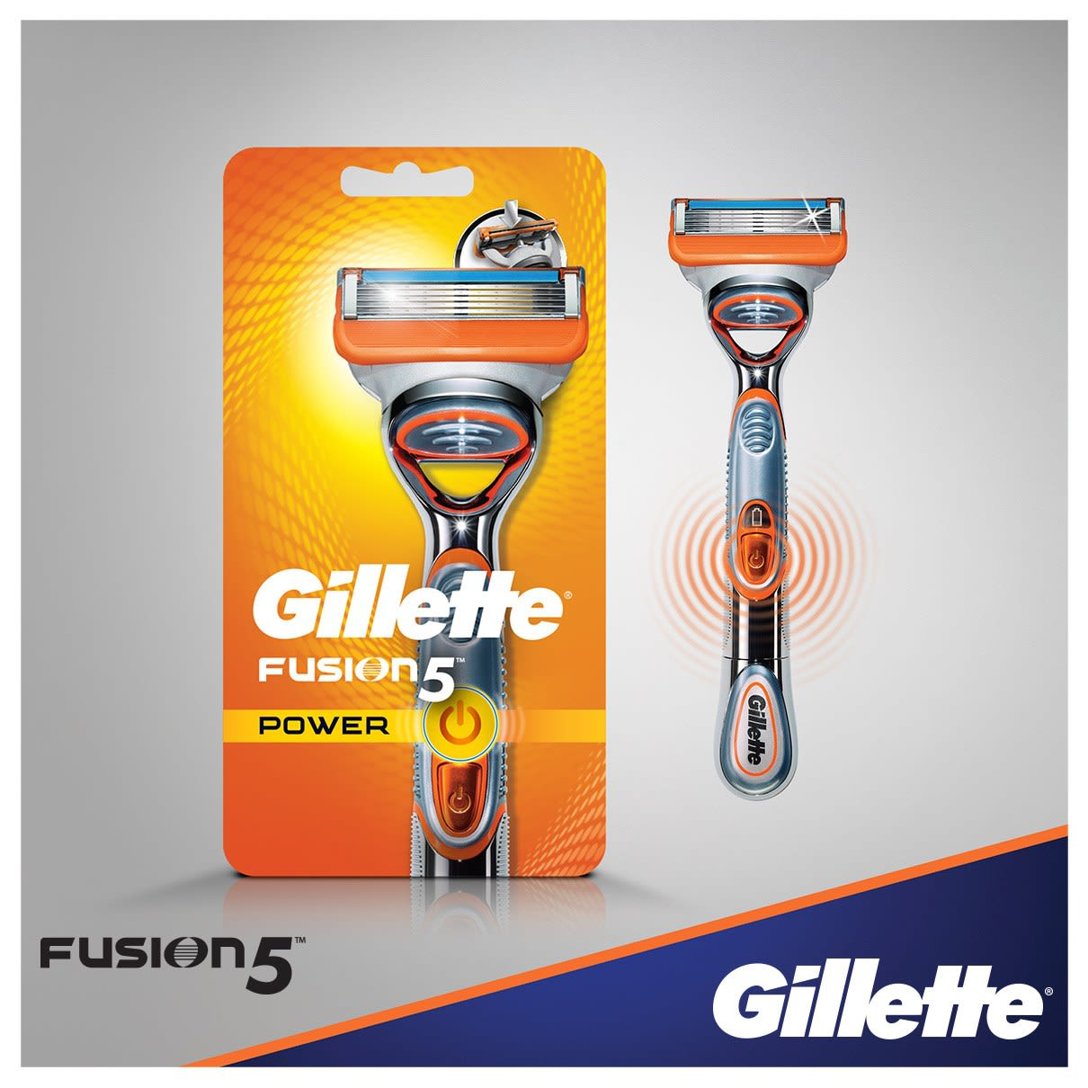 Gillette Fusion5 Power Borotva
