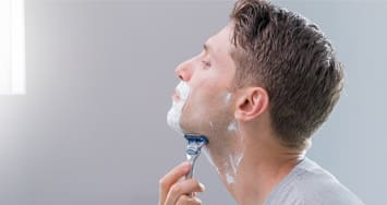 Face shaving tips: dry or tight skin