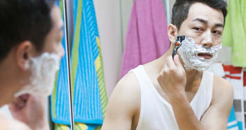 Face shaving tips: oily or acne-prone skin