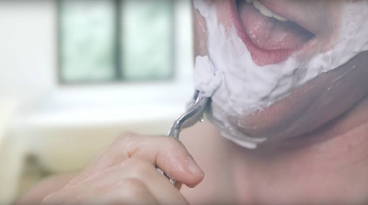 How to shave without getting hurt
