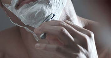 Face shaving tips: against the grain