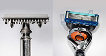 The safety razor evolution