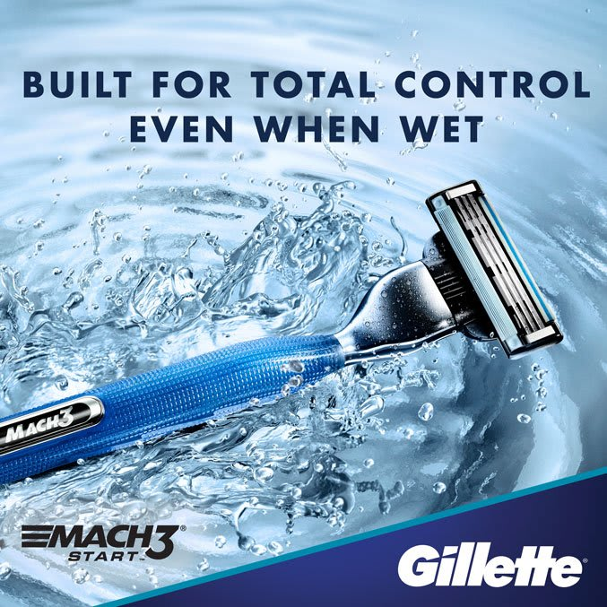 Built for total control even when wet