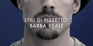 Stili Di Pizzetto: Barba Reale