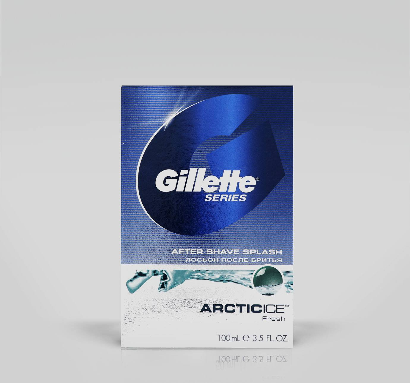 Dopobarba Gillette Series Splash Artic Ice