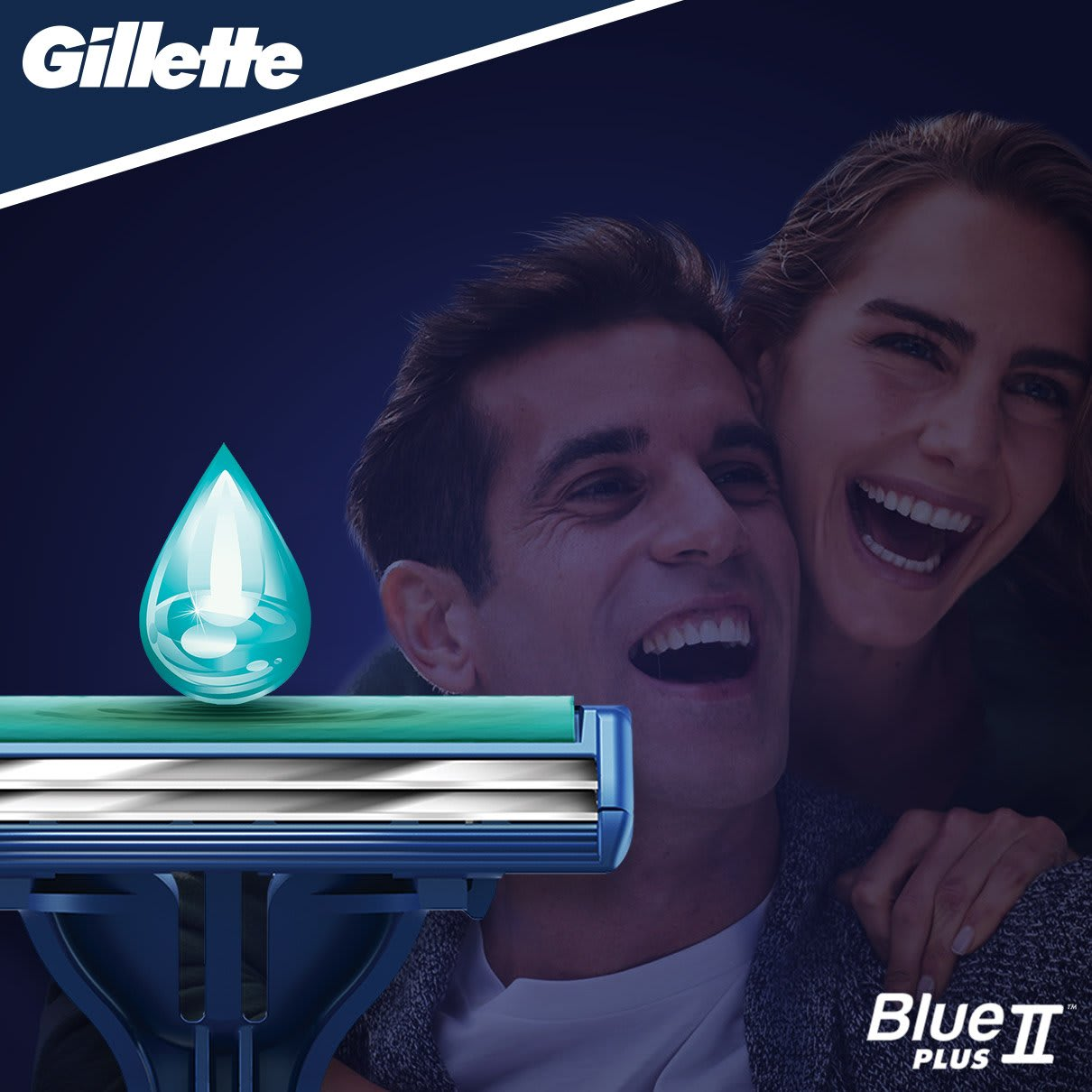 Gillette BlueII Plus Slalom Rasoio Da Uomo Usa E Getta