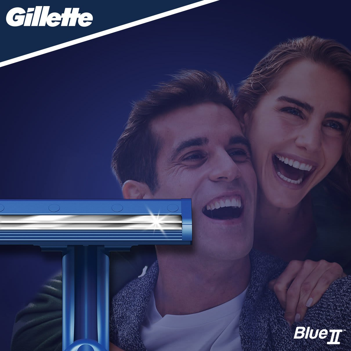 Gillette BlueII Rasoio Da Uomo Usa E Getta