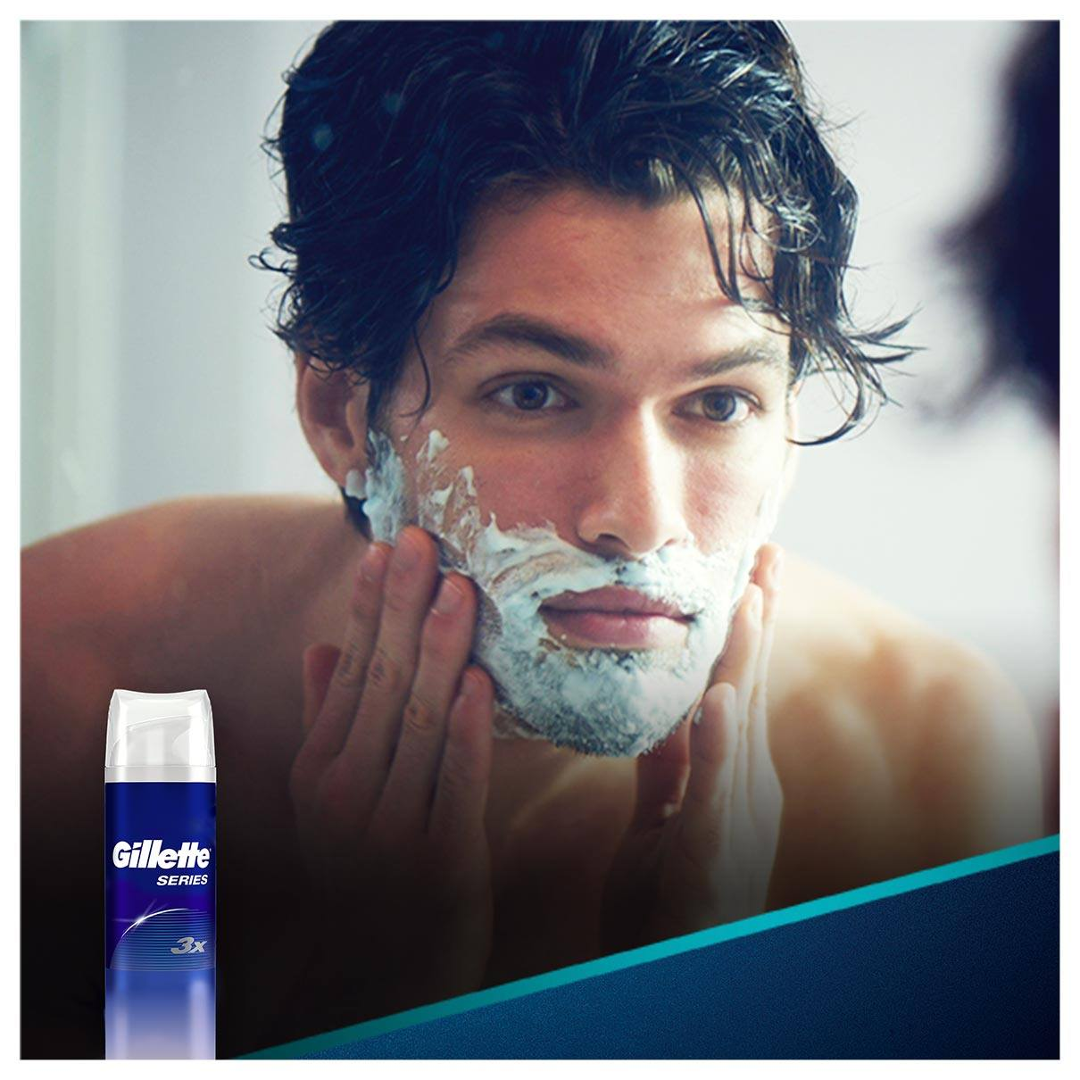 Series Shave Foam Pure And Sensitive