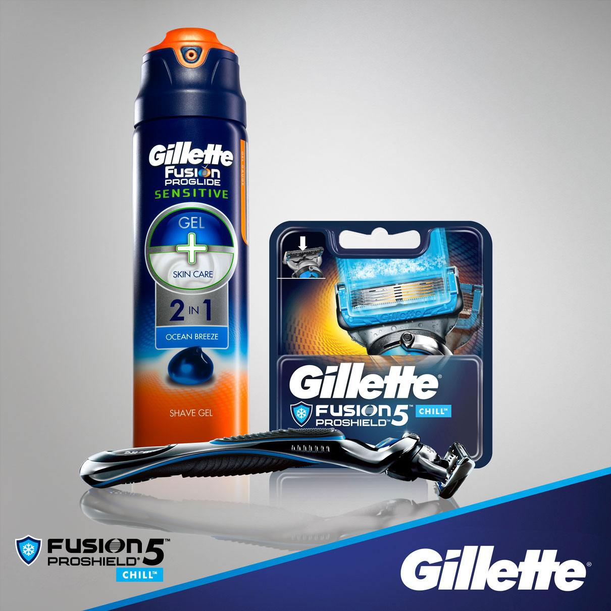 Gillette Proshield Chill Blade