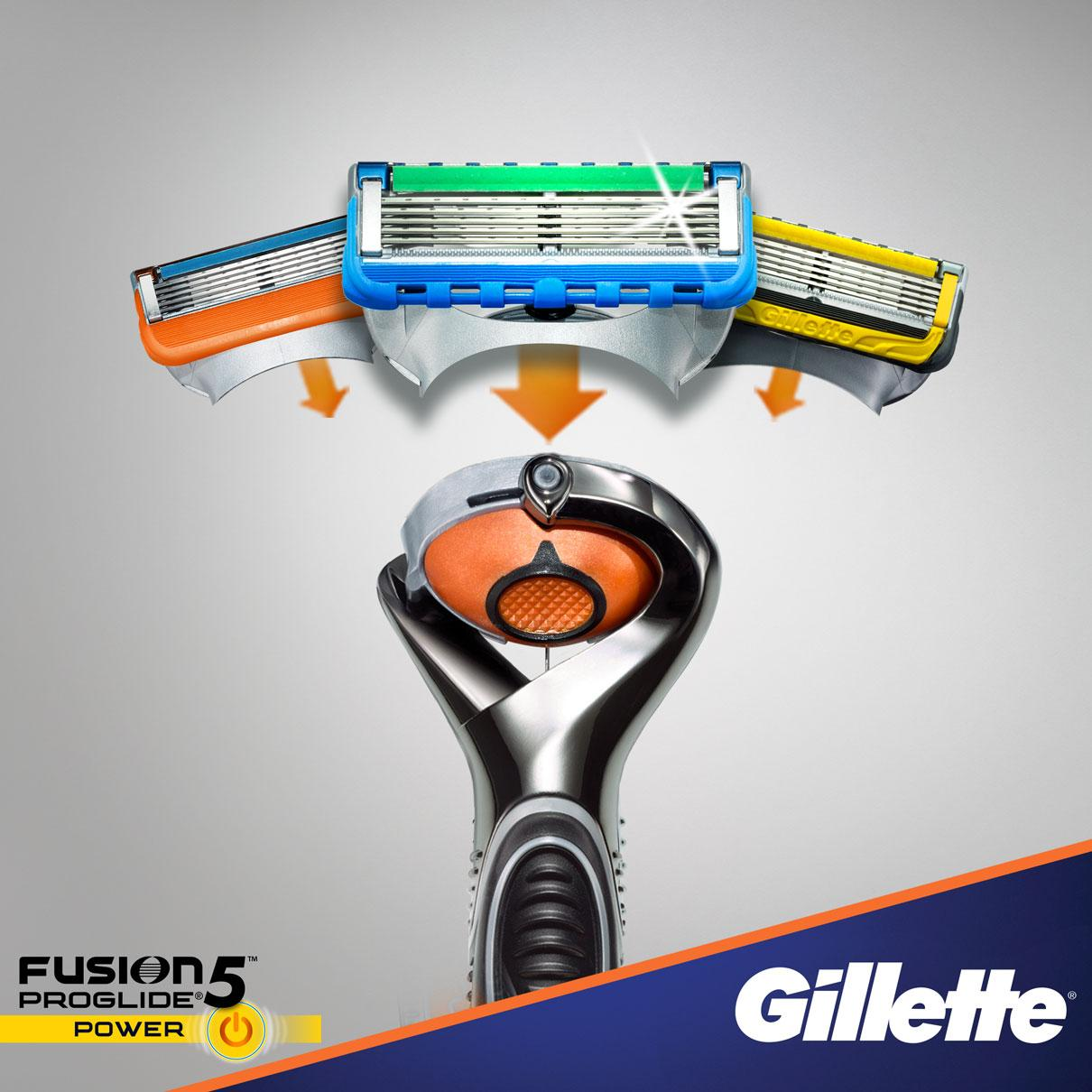 Fusion5 Proglide Power Razor With Flexball