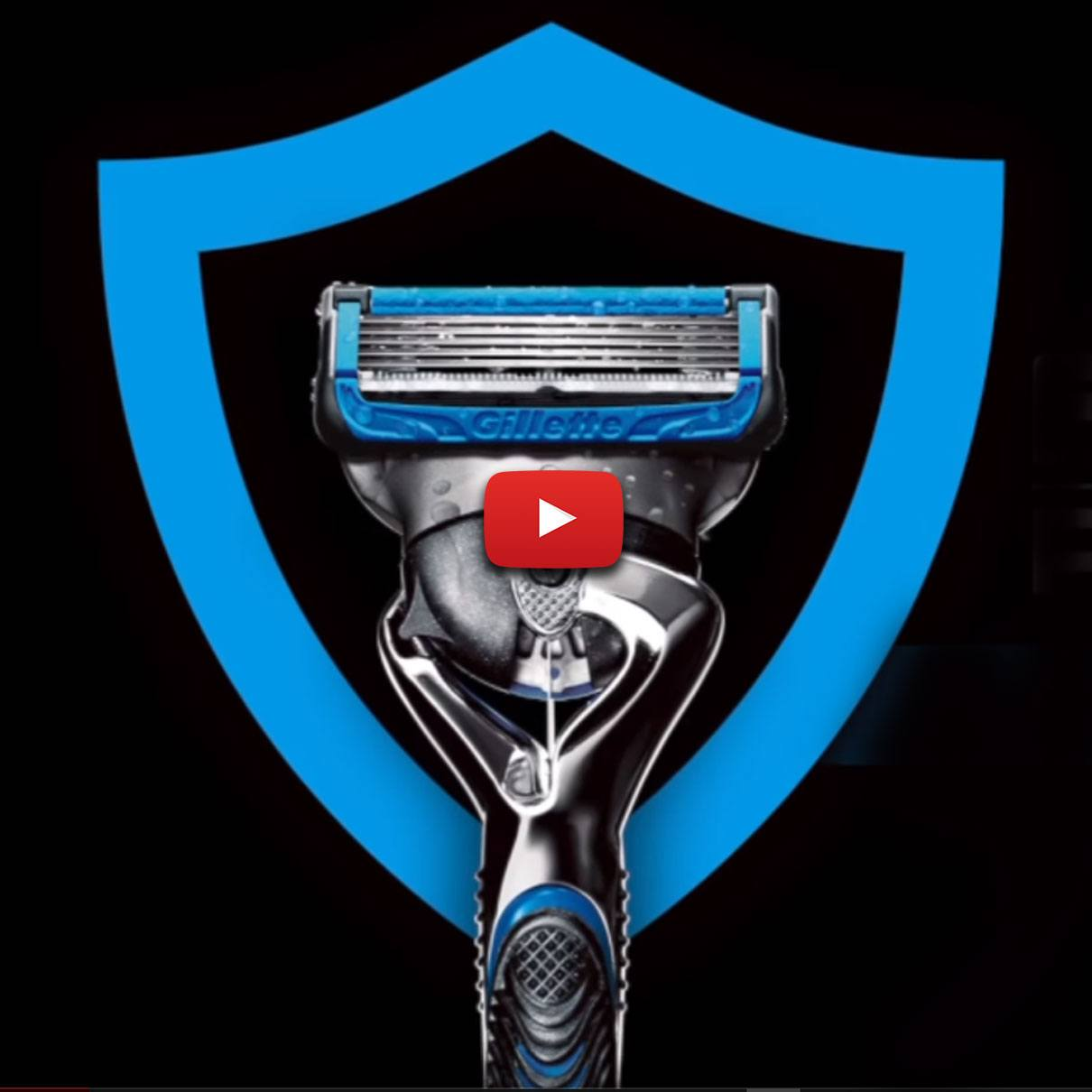 Gillette Fusion ProShield Chill Razor Blade Technology