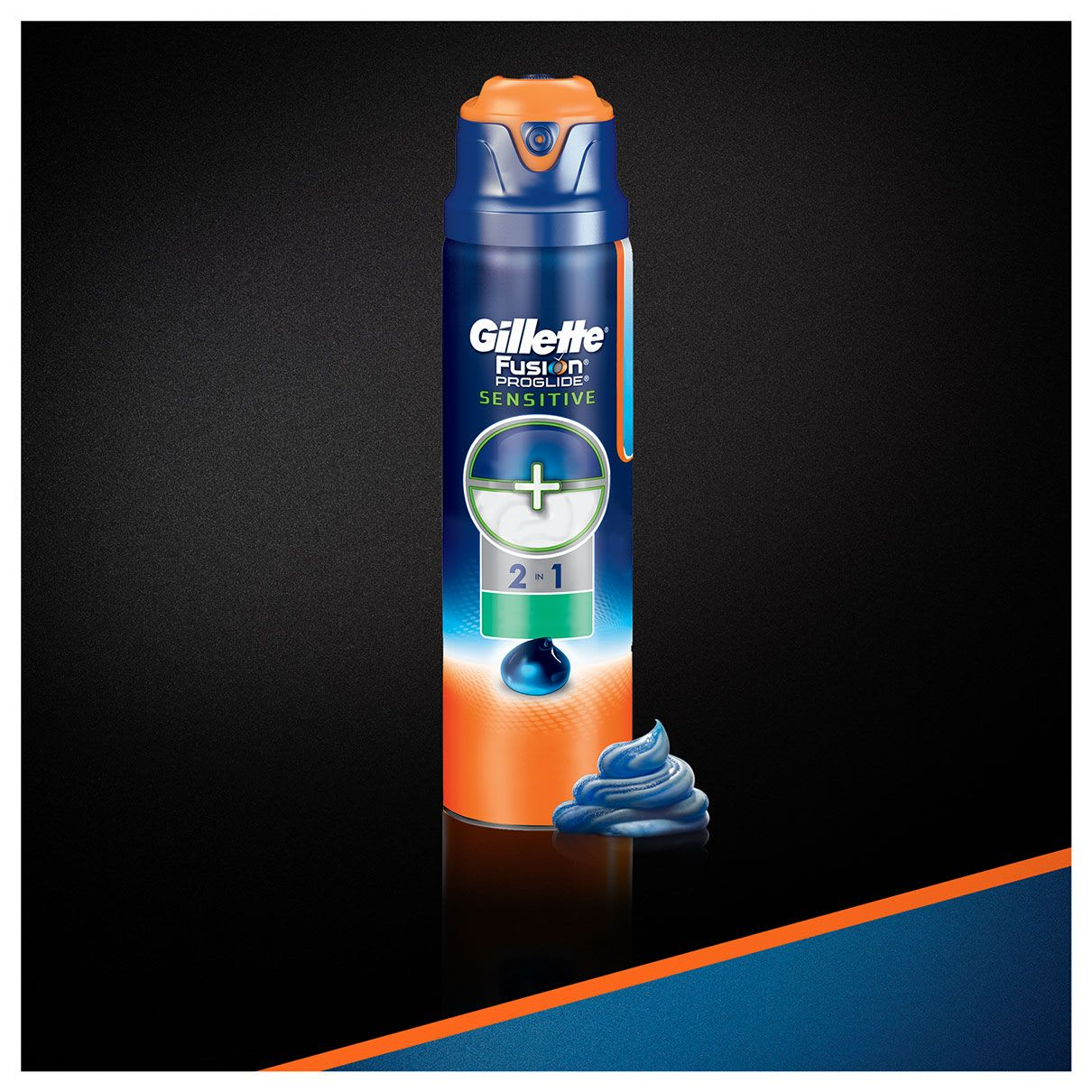 Fusion Proglide 2 W 1 Sensitive Alpine Clean Żel Do Golenia