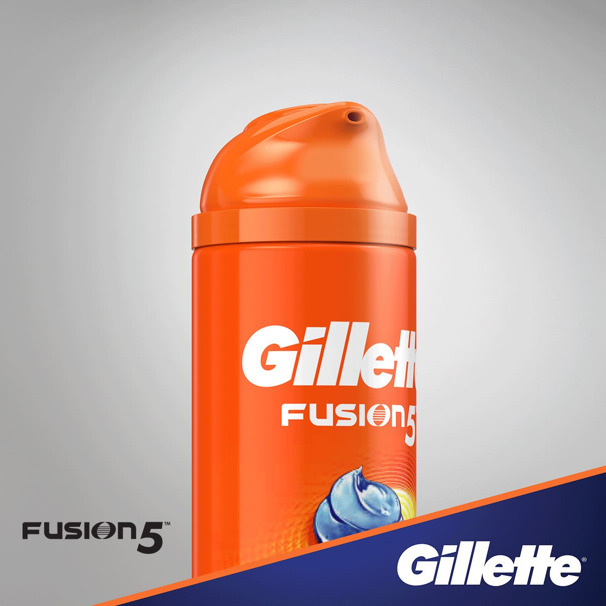 Гель для бритья Gillette Fusion5 Ultra Sensitive + Cooling