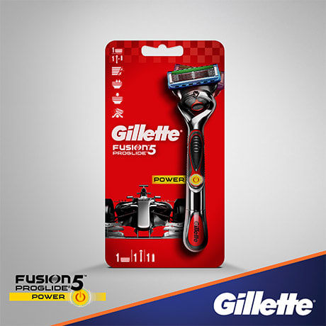 МУЖСКАЯ БРИТВА GILLETTE FUSION PROGLIDE POWER FLEXBALL