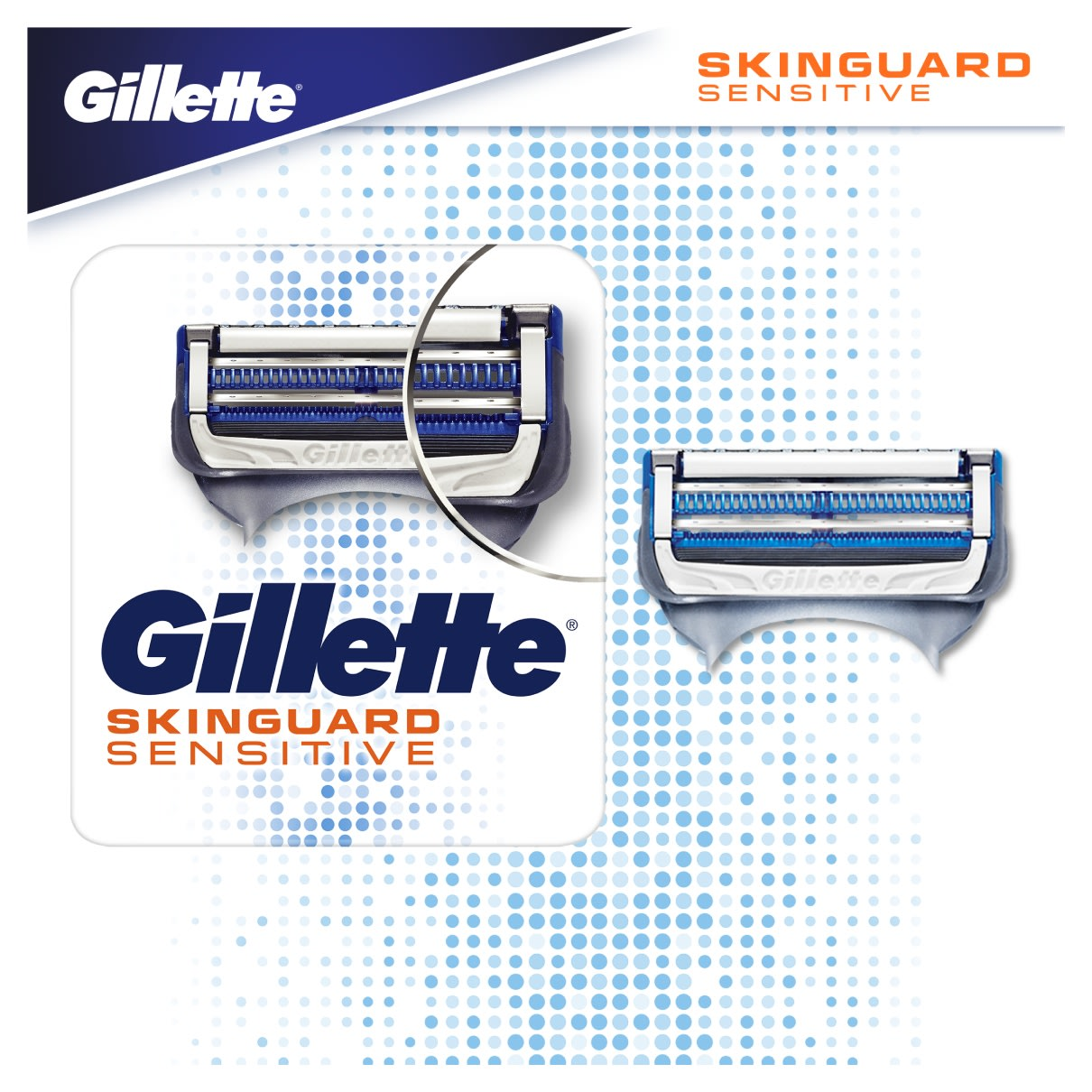Skinguard Sensitive Razor Blades For Sensitive Skin