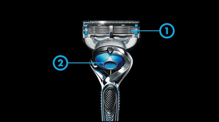 Gillette razors are packed with technology to bring comfort into shaving.