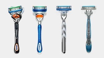 Gillette Razor Portfolio Technology
