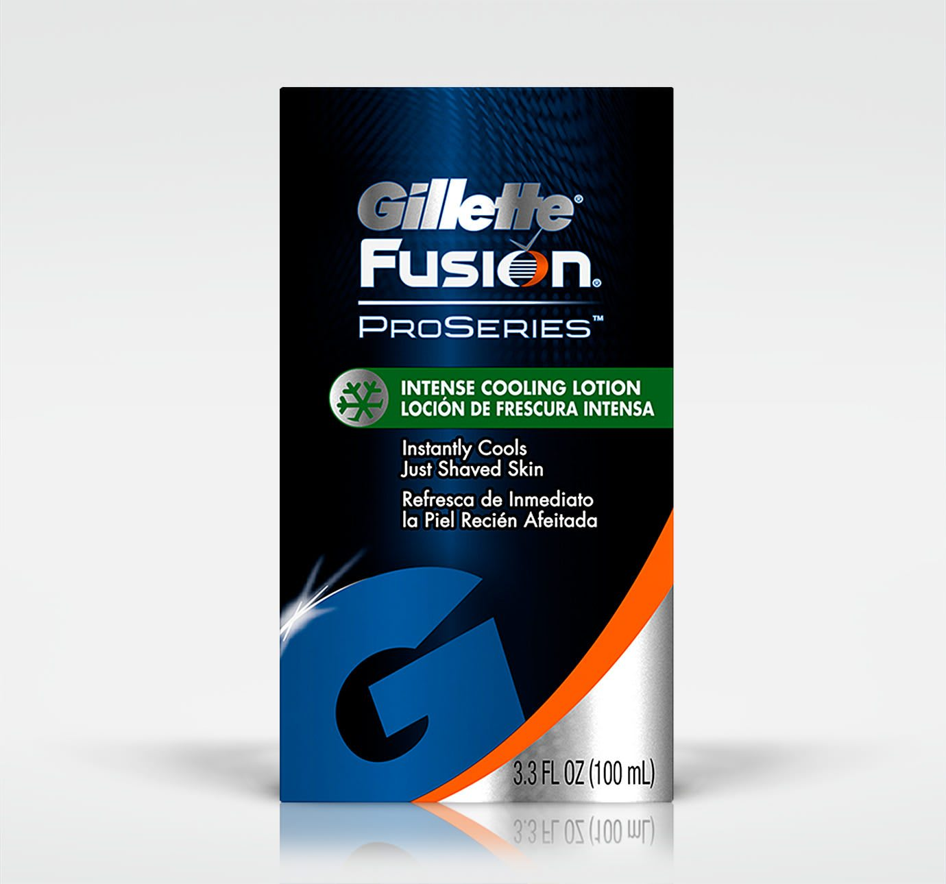 gillette fusion proseries irritation cooling aftershave lotion