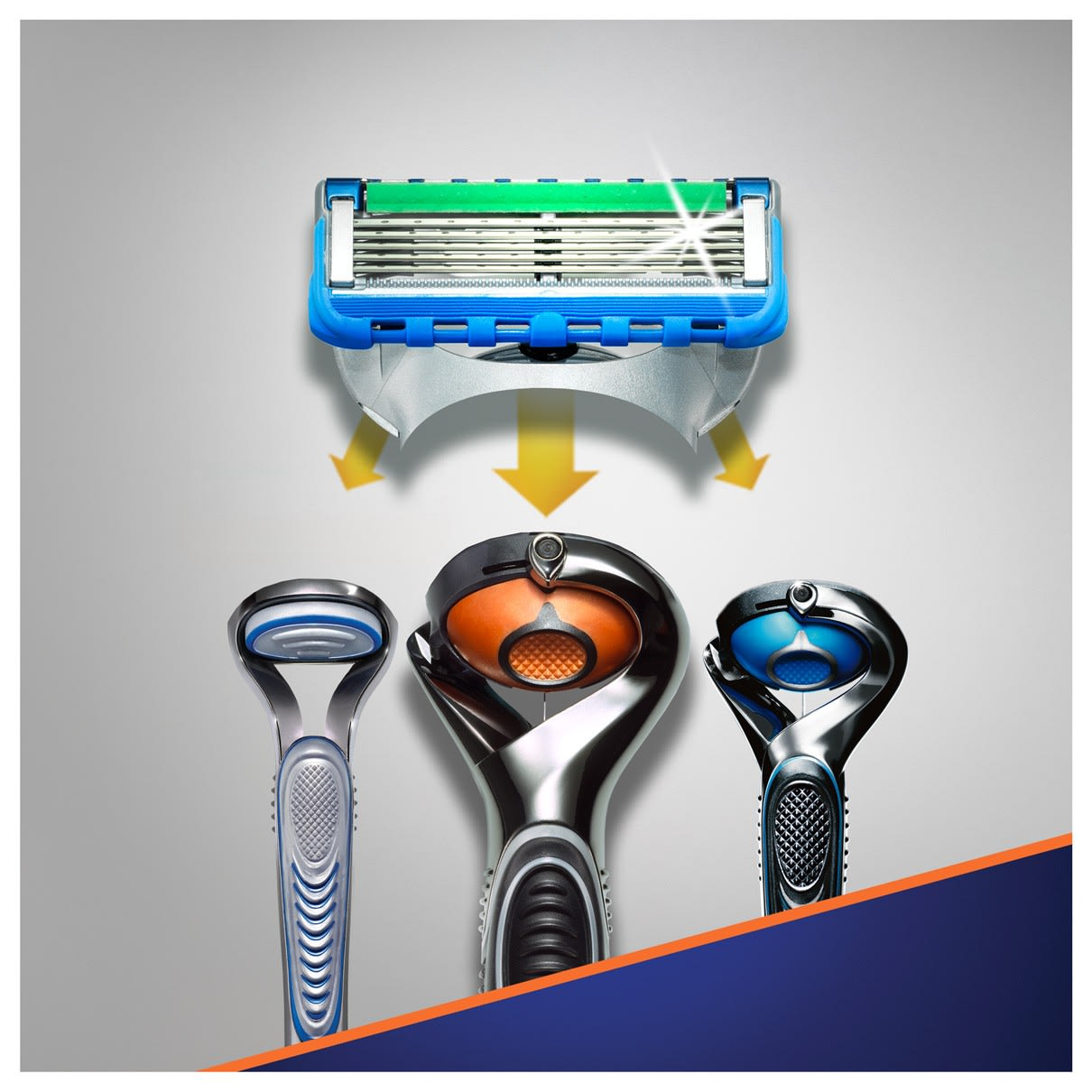 5. Fits all Fusion5 razors