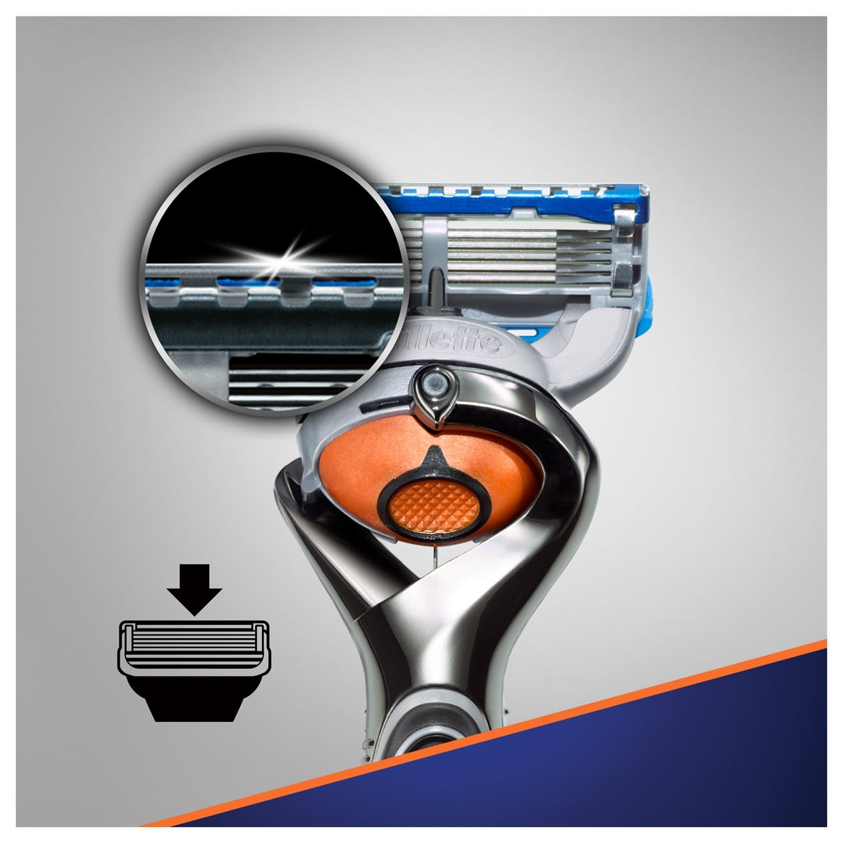 4. Precision trimmer for hard-to-reach areas & styling facial hair