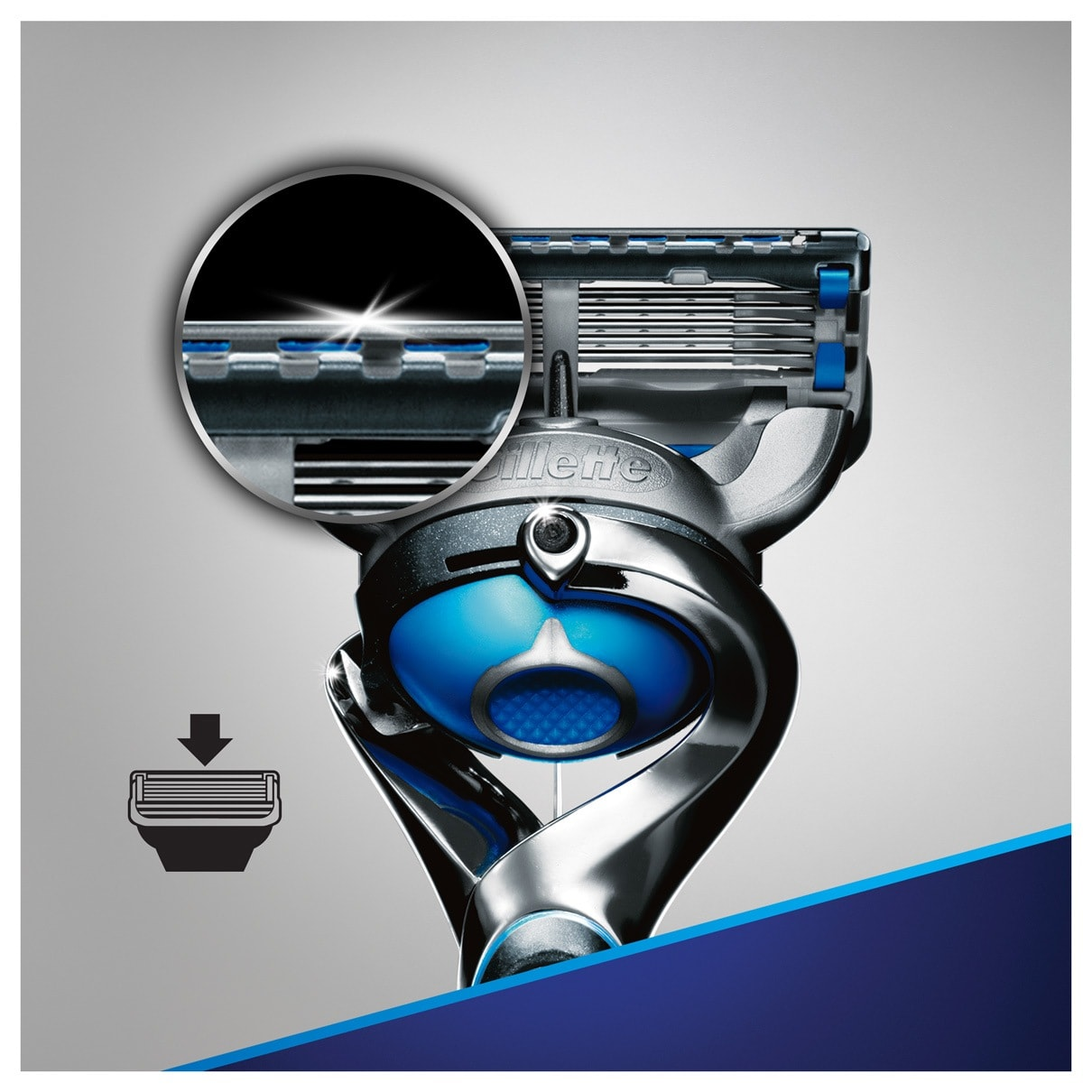 6. Precision trimmer for hard-to-reach areas & styling facial hair