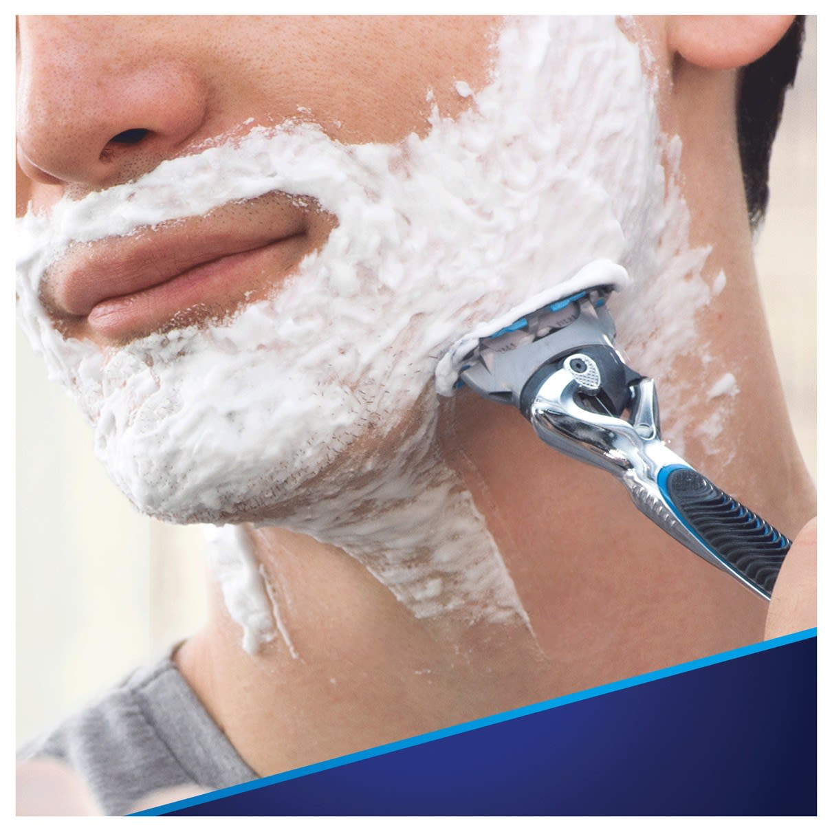7. shields & cools while you shave
