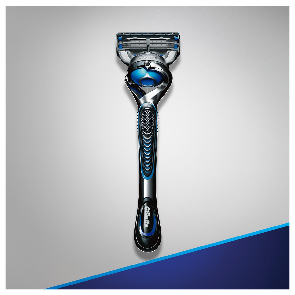 10. Triple your shield* gentle to the last stroke *2 razor lubricating surfaces plus shave gel""
