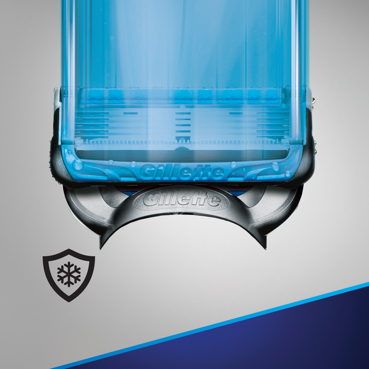 """2. lubrication before and after the blades shields & cools while you shave"