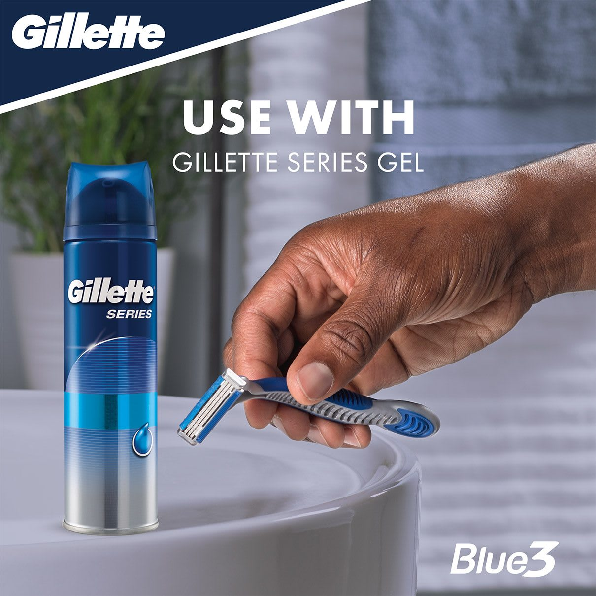 Use With Gillette Series foam