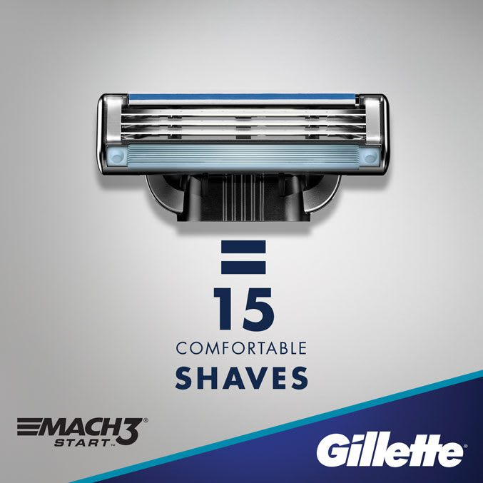 = 15 comfortable shaves