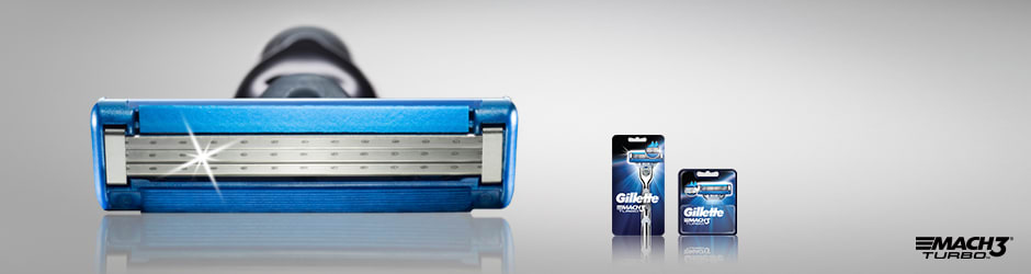 Gillette® MACH3® Turbo Men's Razors