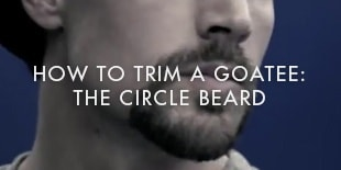 How To Trim A Goatee: The Circle Beard