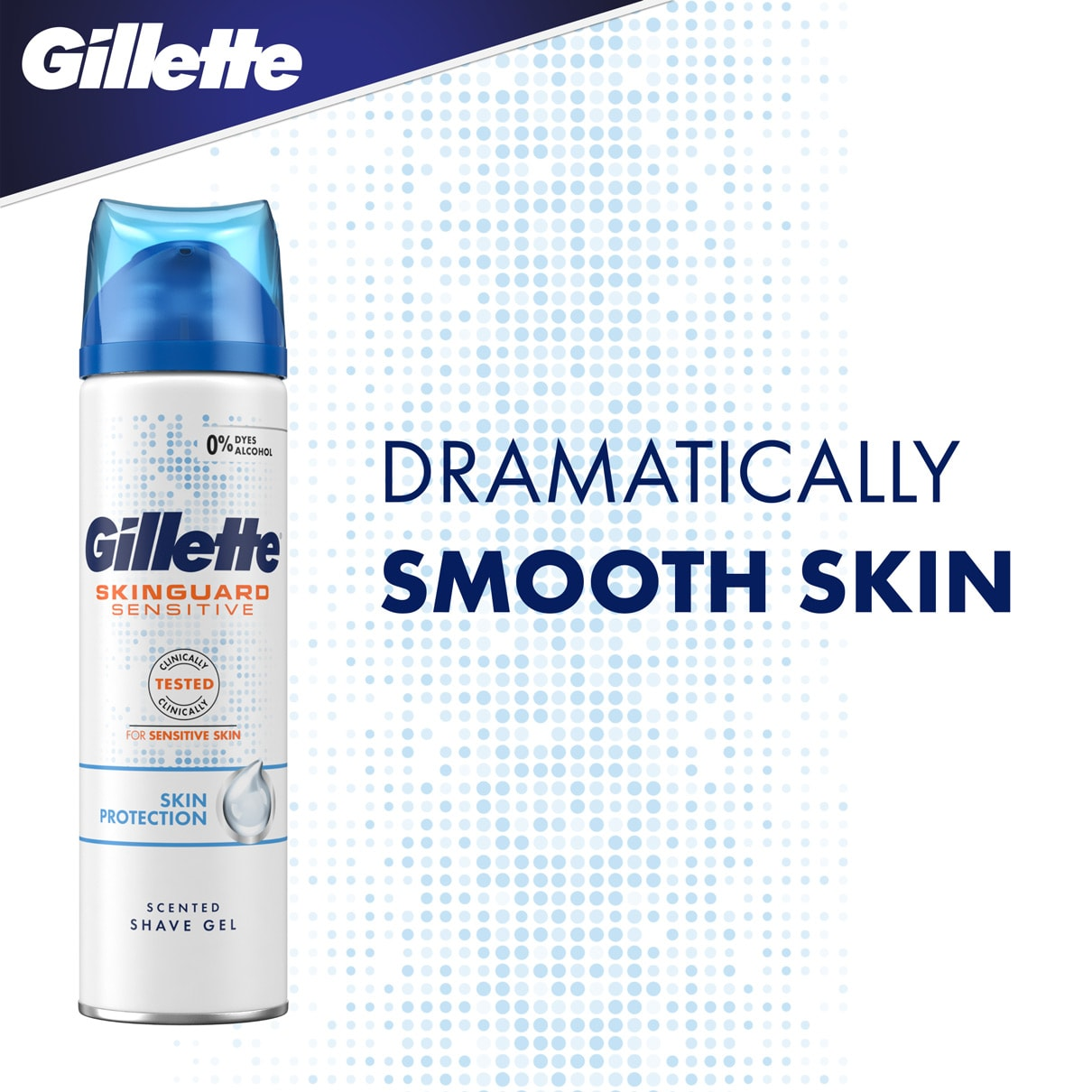 Dramatically smooth skin